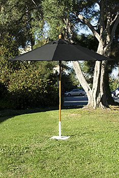 9' Market Umbrella-Black